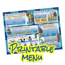 Printable Chillers Menu